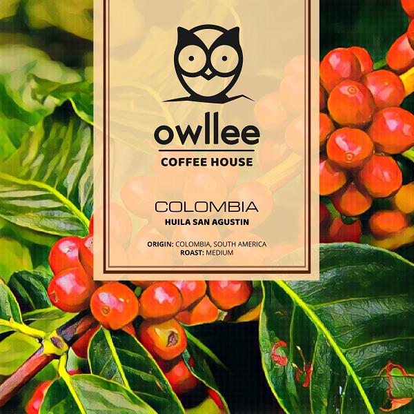 кафе Colombia Huila San Agustin